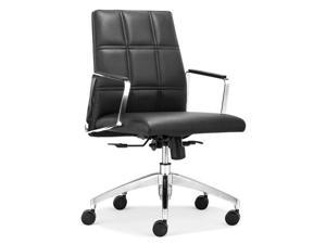 Zuo Zuo Controller Low Back Office Chair Black - 206115 206115