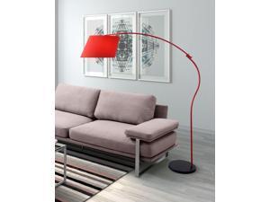 Zuo Zuo Derecho Floor Lamp Red - 50155 50155
