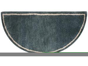 Uniflame Forest Green Hand-Tufted 100% Wool Hearth Rug R-5000