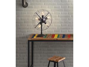 Zuo Zuo Simplotite Table Lamp Rust Black - 98274 98274