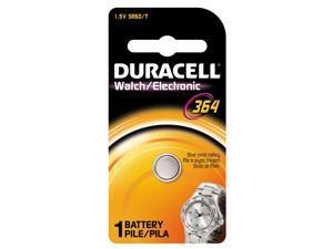 DURACELL D364BPK Button Cell Battery,364,Silver Oxide