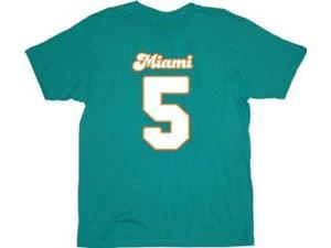 Ace Ventura Ray Finkle Maimi #5 Teal Jersey T-Shirt