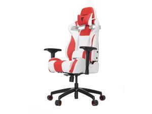 Vertagear S-Line SL4000 Racing Series Gaming Office Chair - White/Red (Rev. 2)