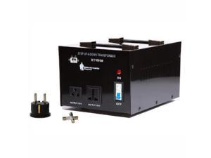 Rockstone Power 5000 Watt Heavy Duty Step Up/Down Voltage Transformer Converter - Step Up/Down 110/120/220/240 Volt - 5V USB Port - CE Certified [3-Year Warranty]