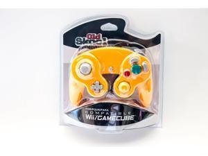 Old Skool GameCube / Wii Compatible Controller - Spice (Orange)