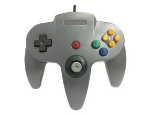Old Skool Classic Wired Controller Joystick for Nintendo 64 N64 Game System - Grey