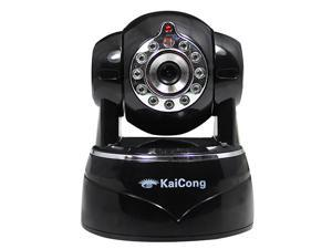 KaiCong Sip1201/Megapixel HD 1280x720p/Wireless or Wired/H.264/IP Camera/Mobile View/Suitable for ALL Network/Baby Monitor/Remote View and Control/Pan & Tilt/TF Card Record/ONVIF/IRCUT/Network Camera/