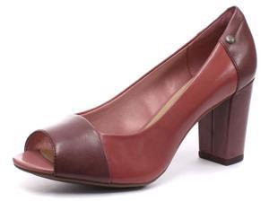 New Hush Puppies Sisany Peep Toe Rose Womens Heels, Size 5
