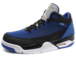 New Nike Air Jordan Flight Club 80's Black/Blue Mens Basketball, Size 7