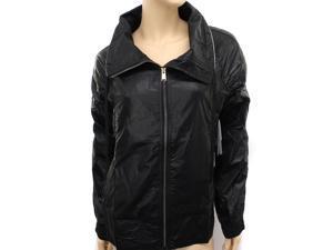 New Reebok Womens Black Woven Jacket, Size M