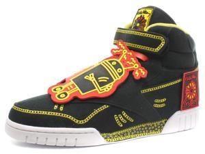 New Reebok Classic x Keith Haring Exofit Plus Hi R13 Mens Sneakers, Size 9