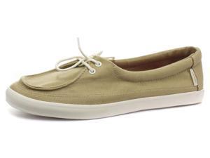New Vans Rata Lo Beige Womens Flat Lace Up Shoes, Size 10