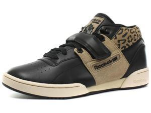 New Reebok Classic Workout Mid Strap XE Mens Sneakers, Size 8.5