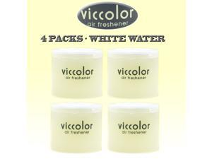 Japan Diax Viccolor White Water Air Freshener (Genuine Diax JDM Products) - 4 Pack