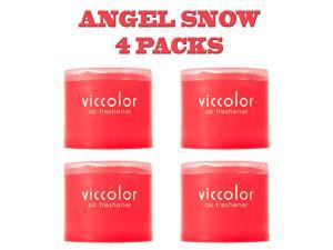 Japan Diax Viccolor Angel Snow Air Freshener (Genuine Diax JDM Products) - 4 Pack