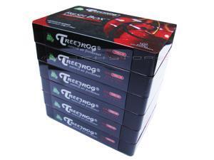 Treefrog Fresh Box Air Freshener - Black Cherry Scent - 6 Pack