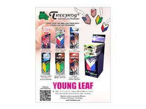 Wakaba Japan Treefrog Young Leaf JDM Air Freshener - 36 PACK -Assorted Scents