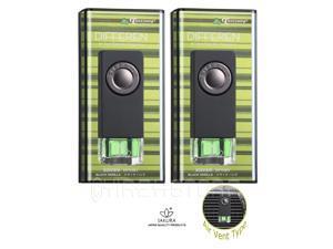 TreeFrog Differen Vent Clips Air Freshener - Black Vanilla Scent 2-Pack