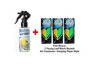 Treefrog Top Fresh Air Freshener Black Squash Scent And 3 Wakaba