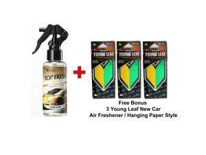 Treefrog Top Fresh Air Freshener New Car Scent And 3 Wakaba