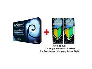 Treefrog Fresh Box Air Freshener Black Squash Scent and 2 Wakaba