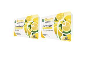 Treefrog Fresh Box Air Freshener - Lemon Scent - 2 Pack