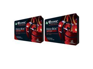 Treefrog Fresh Box Air Freshener - Black Cherry Scent - 2 Pack