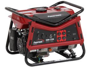 Powermate PM0103008, 3000 Watt Portable Generator with Manual Start