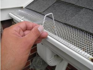 50 count Christmas Hook, Christmas light hanger for gutters with mesh or perforated leaf gutter guard.