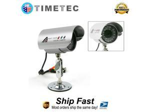 918W Wired Surveillance Security CCTV Outdoor IR Night Vision Color Video Audio Camera With 100 Feet Cable