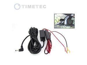Timetec Hard Wiring 12V Power Cord Kit for Roadhawk Car Vehicle Dash Cam Blackbox DVR (Hard Wiring Kit)
