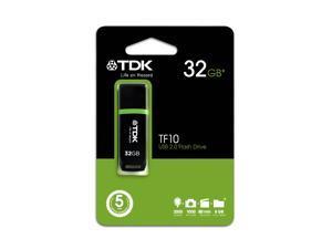 TDK T78934 32GB USB 2.0 Flash Drive - TF10