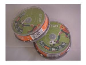 TDK DVD-RW 1.4Gb 8cm 30min Spindle 10 camcorder mini dvd 1.4 gb dvdrw