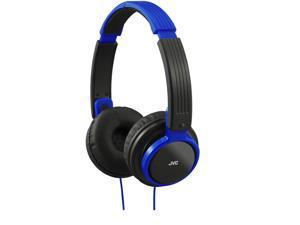 JVC HAS200 BLUE Foldable Headphones Portable Universal HA-S200