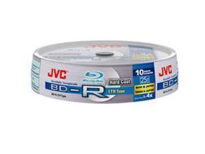 JVC BD-R 25Gb LTH Type Spindle 10 Blu-ray bluray blank media bdr discs