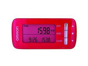 Omron HJA-306EP Step Counter PINK