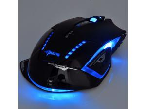 Newest 2.4GHz E-sport Blue LED Wireless Optical Gaming Game Mouse 2500 DPI