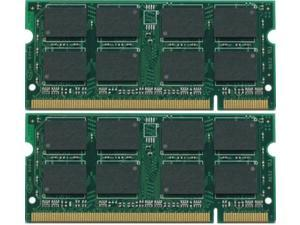 4GB Kit (2*2GB) DDR2-667MHz PC2-5300 200-Pin SODIMM MEMORY FOR DELL INSPIRON 1318 1420 1520 1521 1525 1525SE 1526 1526SE