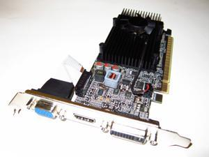 nVIDIA GeForce GT 610 PCI-E x16 Dual Monitor Display View Video Graphics VGA Card 1GB DDR3