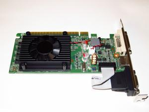 nVIDIA GeForce 8400GS 1GB GeForce PCI Express PCI-E x 16 2 Monitor Display View Video Graphics Card