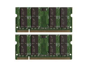4GB Kit (2*2GB) DDR2-667MHz PC2-5300 200pin SO-DIMM Laptop Memory