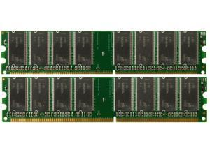 2GB KIT (2*1GB) PC2700 DDR-333MHz 184-Pin DIMM Memory Dell OptiPlex 170L