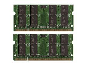 2GB (2*1GB) 200-Pins DDR2-533MHz/667MHz RAM Memory for Dell Inspiron E1505