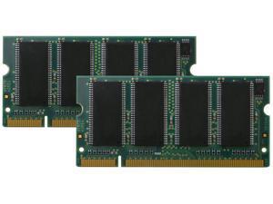 2GB 2x1GB PC2700 DDR-333MHz 200pin SODIMM Low Density Laptop Memory