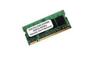 2GB PC2-5300 DDR2-667MHz 200pin SODIMM non-ECC UnBuffered SDRAM LAPTOP RAM Memory