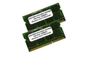 8GB 2 X 4GB DDR3-1066MHZ PC3-8500 204pin SODIMM RAM Memory FOR MAC AND PC