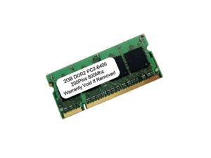 2GB PC2-6400 DDR2-800MHz 200pin SODIMM UnBuffered Memory for Laptop