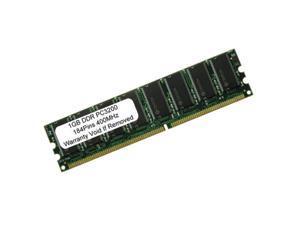 1GB PC3200 DDR-400MHz 184PIN DIMM LOW DENSITY Desktop Memory