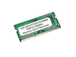 1GB PC3200 DDR-400MHz 200Pin SODIMM UnBuffered LAPTOP MEMORY