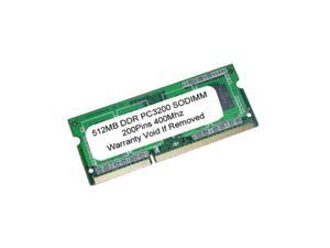 512MB PC3200 DDR 400MHz 200pin SODIMM MEMORY for LAPTOP